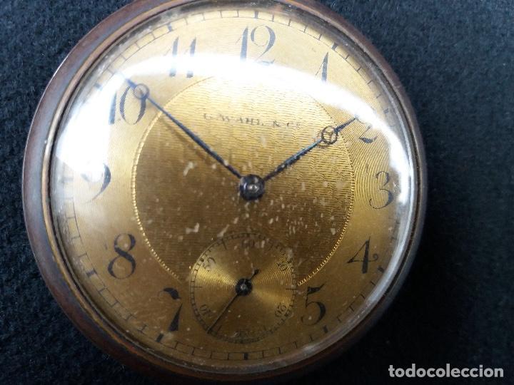 Relojes de bolsillo: RELOJ DE BOLSILLO DE LA MARCA G. WAHL & - Foto 3 - 194523360