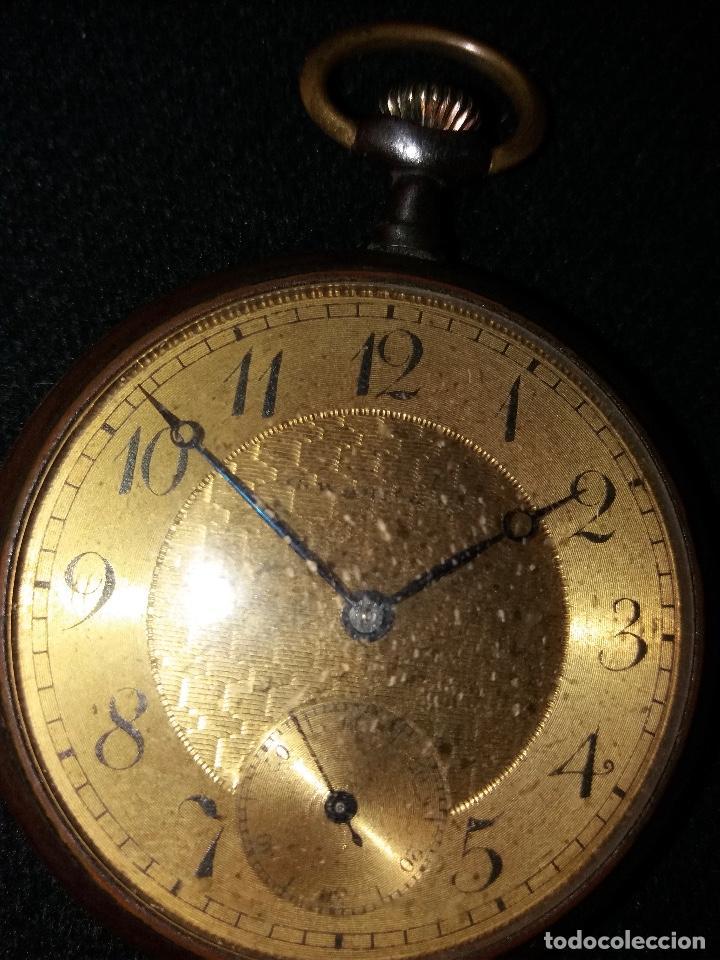 Relojes de bolsillo: RELOJ DE BOLSILLO DE LA MARCA G. WAHL & - Foto 5 - 194523360