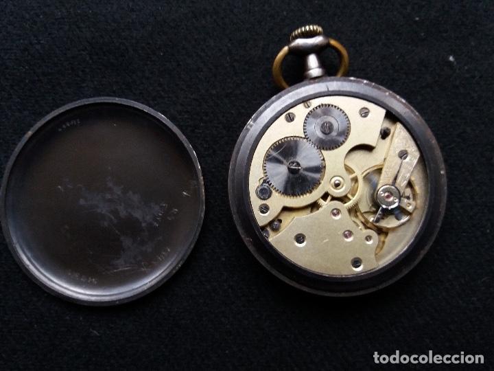Relojes de bolsillo: RELOJ DE BOLSILLO DE LA MARCA G. WAHL & - Foto 6 - 194523360