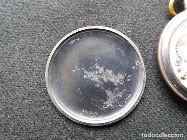 Relojes de bolsillo: RELOJ DE BOLSILLO DE LA MARCA G. WAHL & - Foto 7 - 194523360
