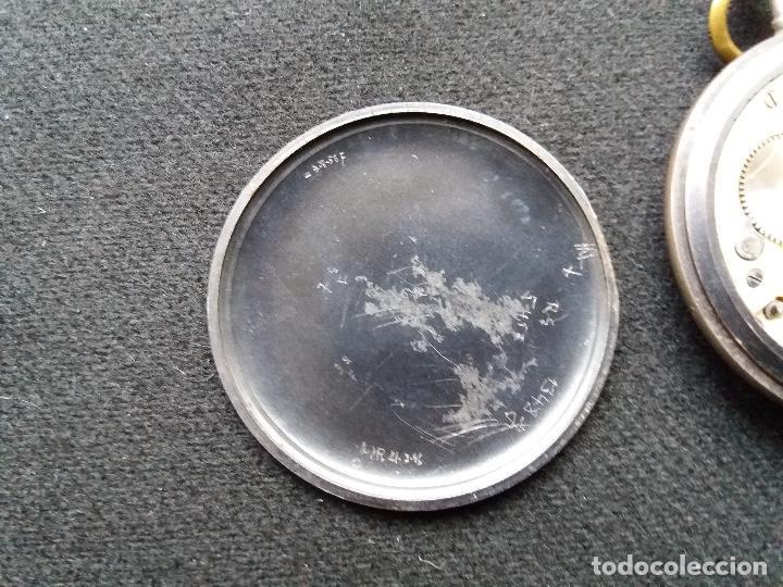 Relojes de bolsillo: RELOJ DE BOLSILLO DE LA MARCA G. WAHL & - Foto 8 - 194523360