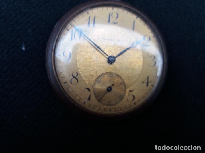 Relojes de bolsillo: RELOJ DE BOLSILLO DE LA MARCA G. WAHL & - Foto 10 - 194523360