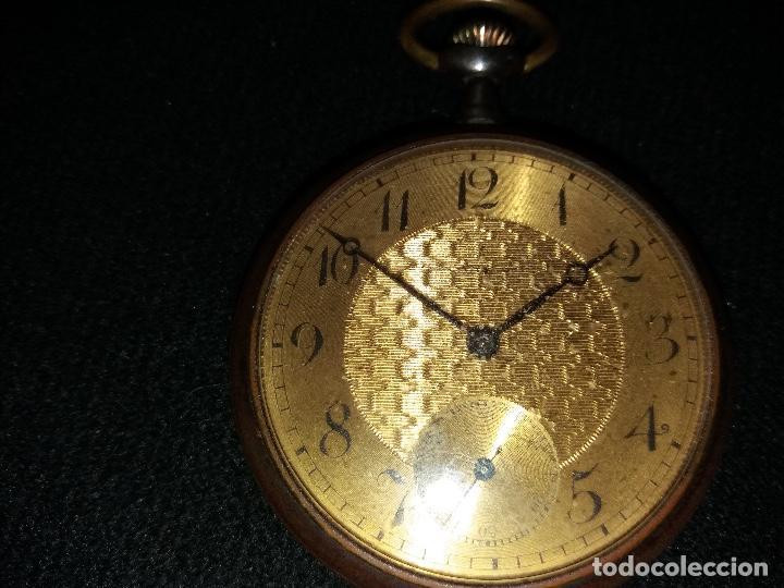 Relojes de bolsillo: RELOJ DE BOLSILLO DE LA MARCA G. WAHL & - Foto 11 - 194523360