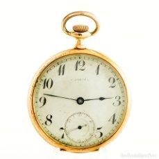 Relojes de bolsillo: C. COPPÉL. SUIZA. RELOJ DE BOLSILLO, LEPINE Y REMONTOIR. PPS. SIGLO XX. ORO 18K.. Lote 194551507