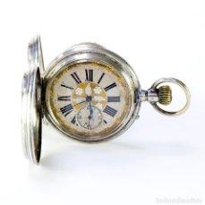 Relojes de bolsillo: BLONDIN GENEVE. RELOJ DE BOLSILLO, SABONETA Y REMONTOIR. SUIZA, CA. 1880.. Lote 194552527