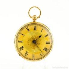 Relojes de bolsillo: PARSONS (EALING, LONDRES). RELOJ DE BOLSILLO PARA CABALLERO. HALF FUSEE (SEMICATALINO), LEPINE. CHES. Lote 194651953
