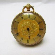 Relojes de bolsillo: BAUME GENEVE B&L. RELOJ DE COLGAR, LEPINE. SUIZA, CA. 1900. ORO 18K.. Lote 194652230