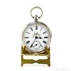 Relojes de bolsillo: RELOJ SUIZO DE COLGAR, LEPINE, UNISEX. SUIZA, CA. 1900. Lote 194652480