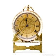 Relojes de bolsillo: RELOJ SUIZO DE BOLSILLO-COLGAR, LEPINE. SUIZA, CA. 1890. ORO 18K.. Lote 194787888