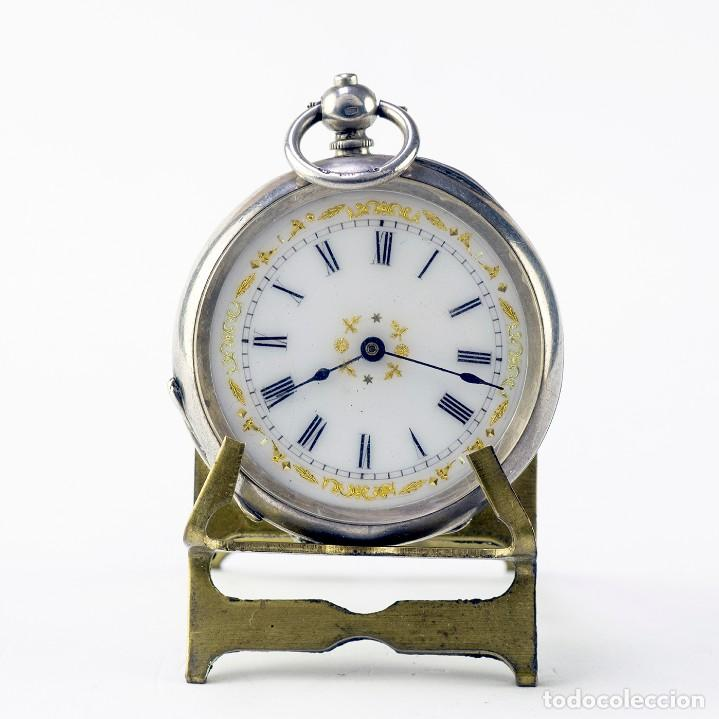 RELOJ SUIZO DE COLGAR, UNISEX, LEPINE. SUIZA, CA. 1900. (Relojes - Bolsillo Carga Manual)