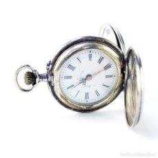 Relojes de bolsillo: MOLÉ (SUIZA). RELOJ DE COLGAR, UNISEX, SABONETA. SUIZA, CA. 1880.. Lote 194788885