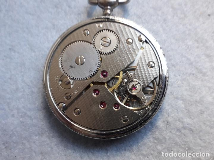 Relojes de bolsillo: Reloj de bolsillo antiguo marca Leman. Swiss made. - Foto 5 - 194878698