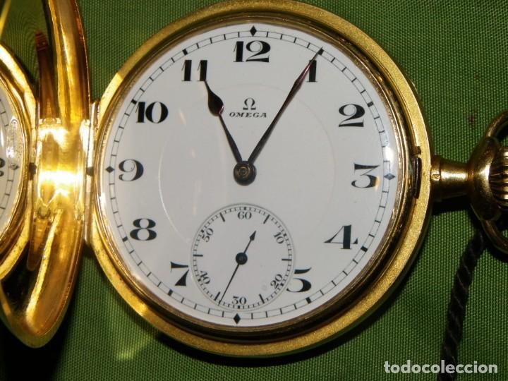 OMEGA BOLSILLO SABONETA 1912 ORO 18K (Relojes - Bolsillo Carga Manual)
