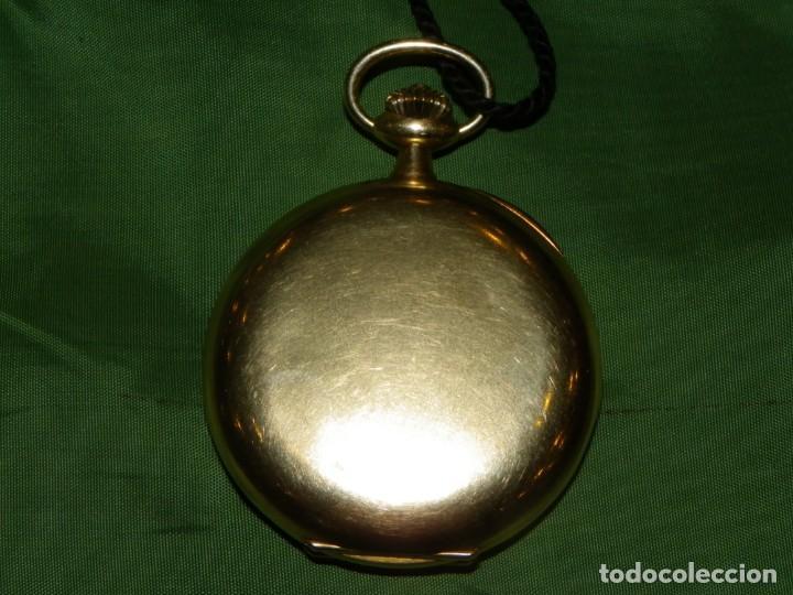 Relojes de bolsillo: Omega bolsillo saboneta 1912 oro 18K - Foto 2 - 194885598