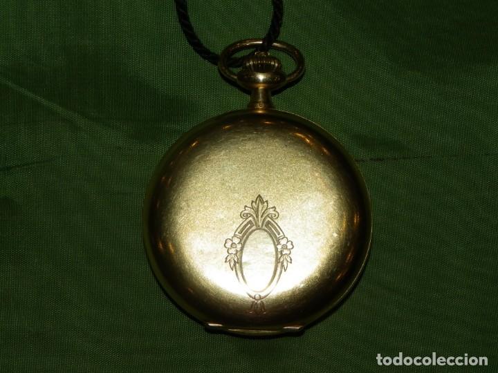 Relojes de bolsillo: Omega bolsillo saboneta 1912 oro 18K - Foto 3 - 194885598