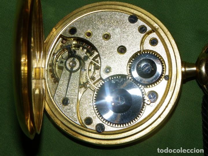 Relojes de bolsillo: Omega bolsillo saboneta 1912 oro 18K - Foto 13 - 194885598