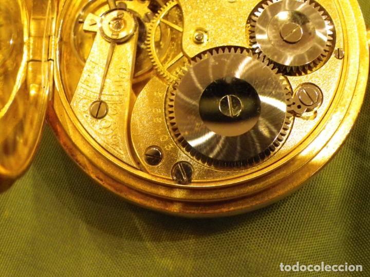 Relojes de bolsillo: Omega bolsillo saboneta 1912 oro 18K - Foto 14 - 194885598