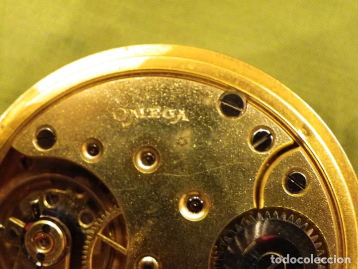 Relojes de bolsillo: Omega bolsillo saboneta 1912 oro 18K - Foto 16 - 194885598