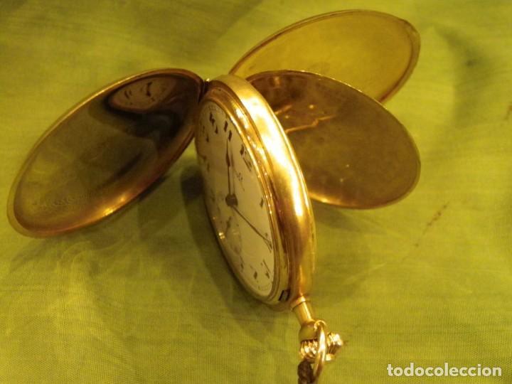 Relojes de bolsillo: Omega bolsillo saboneta 1912 oro 18K - Foto 19 - 194885598