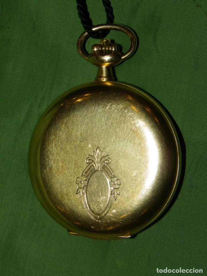 Relojes de bolsillo: Omega bolsillo saboneta 1912 oro 18K - Foto 25 - 194885598