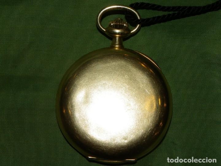 Relojes de bolsillo: Omega bolsillo saboneta 1912 oro 18K - Foto 26 - 194885598