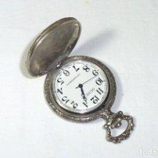 Relojes de bolsillo: RELOJ GENEVA DE BOLSILLO A CUERDA ANTIMAGNETIC.NO FUNCIONA.. Lote 194891086