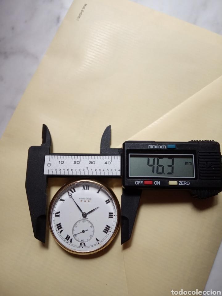 Relojes de bolsillo: Longines vintage 70 gramos oro 18k - Foto 6 - 194892405