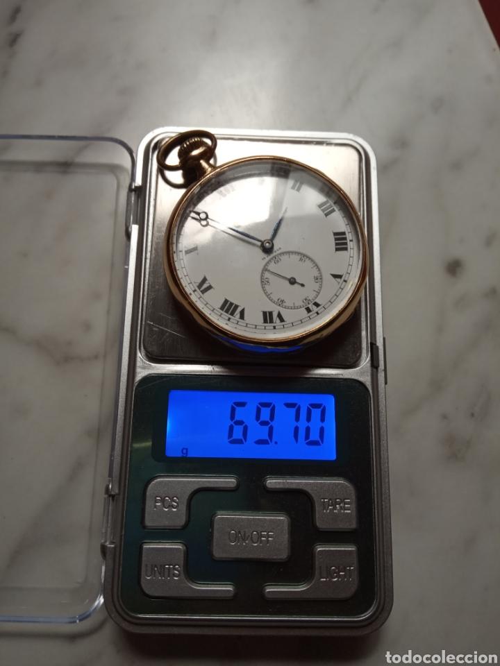 Relojes de bolsillo: Longines vintage 70 gramos oro 18k - Foto 8 - 194892405