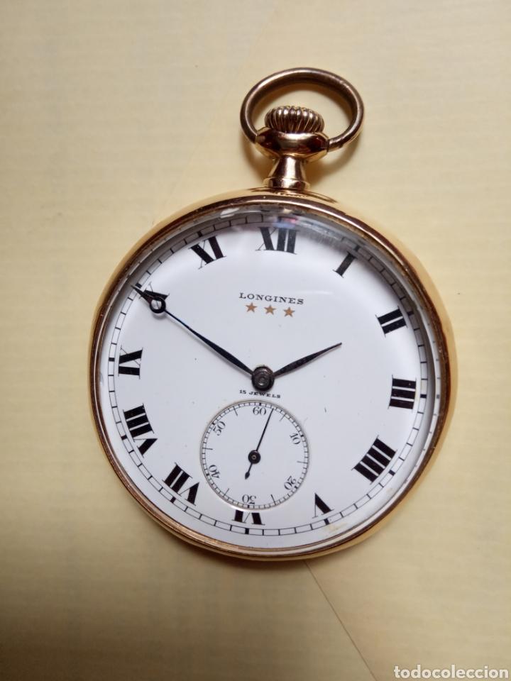 LONGINES VINTAGE 70 GRAMOS ORO 18K (Relojes - Bolsillo Carga Manual)
