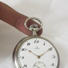 Relojes de bolsillo: RELOJ ANTIGUO DE BOLSILLO OMEGA CASI A ESTRENAR FUNCIONA ALTA COLECCIÓN . Lote 194901082