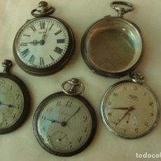 Relojes de bolsillo: LOTE DE RELOJES DE BOLSILLO. Lote 194929587