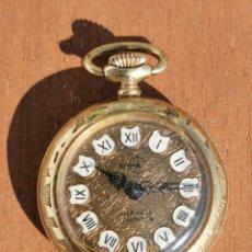Relojes de bolsillo: ANTIGUO RELOJ ARNEX TIME 17 JEWELS INCABLOC 3CM DE DIAMETRO. FUNCIONANDO. Lote 194933292
