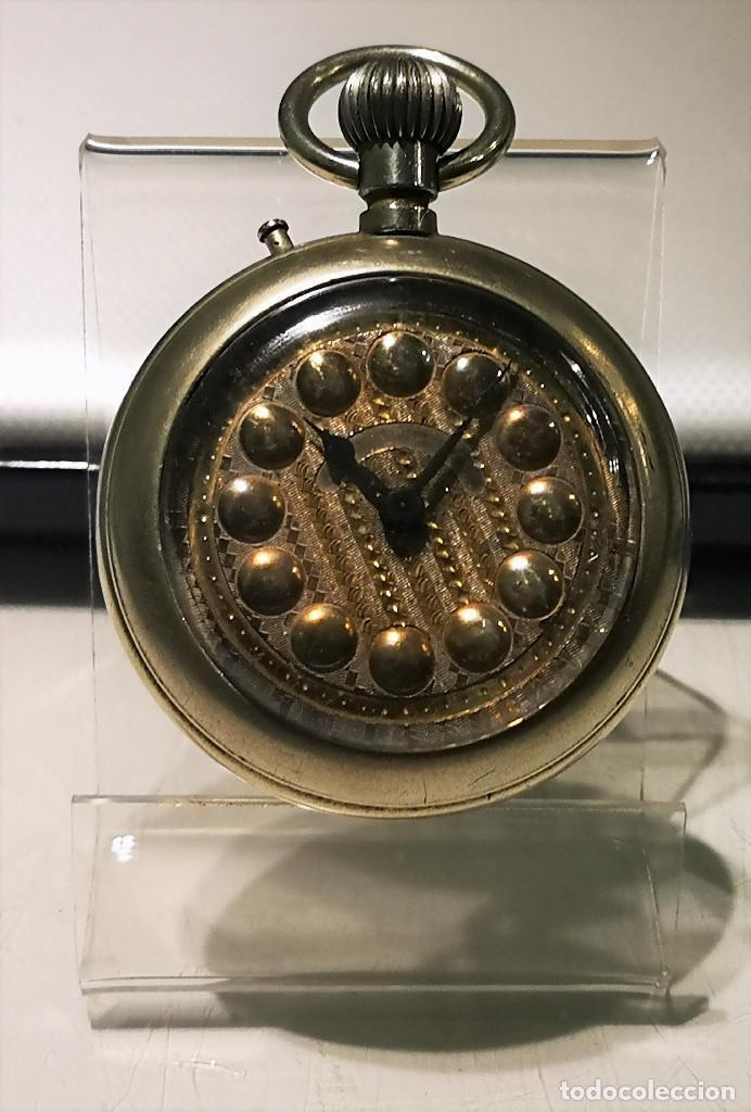 RELOJ DE BOLSILLO,REGULADOR PATENT. FUNCIONAMIENTO INTERMITENTE,PRECISA LIMPIEZA Y AJUSTES. (Relojes - Bolsillo Carga Manual)