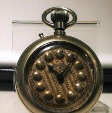 Relojes de bolsillo: RELOJ DE BOLSILLO,REGULADOR PATENT. FUNCIONAMIENTO INTERMITENTE,PRECISA LIMPIEZA Y AJUSTES.. Lote 194953357