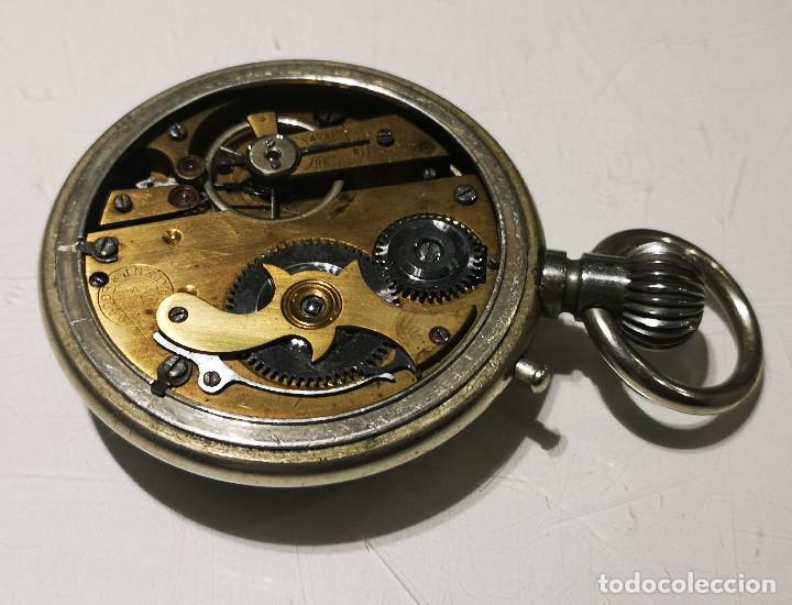 Relojes de bolsillo: Reloj de bolsillo,Regulador Patent. Funcionamiento intermitente,precisa limpieza y ajustes. - Foto 3 - 194953357