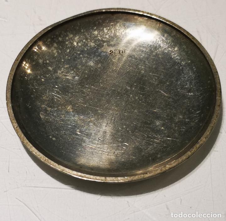 Relojes de bolsillo: Reloj de bolsillo,Regulador Patent. Funcionamiento intermitente,precisa limpieza y ajustes. - Foto 4 - 194953357