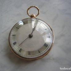 Relojes de bolsillo: RELOJ DE BOLSILLO CATALINO DE ORO 18KT AÑO 1808. Lote 195022800