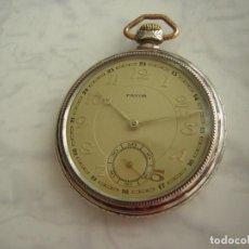 Relojes de bolsillo: RELOJ DE BOLSILLO PLATA Y ORO AÑO 1907. Lote 195023143