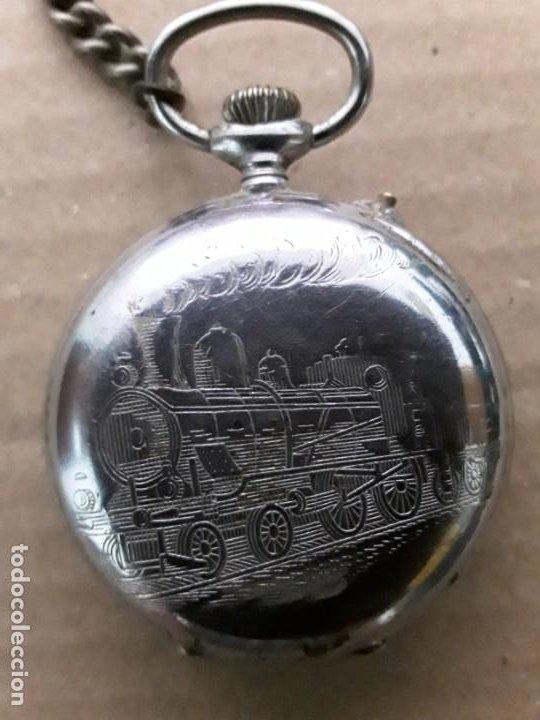 Relojes de bolsillo: Reloj de bolsillo antiguo vencedor extra - Foto 2 - 195049691