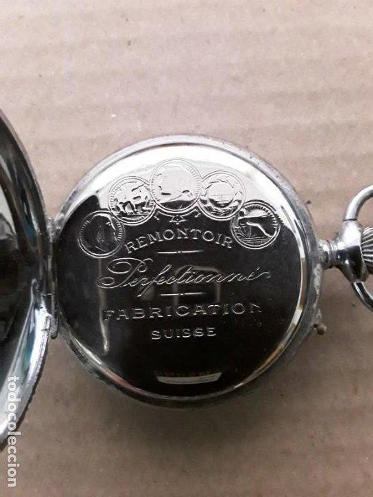 Relojes de bolsillo: Reloj de bolsillo antiguo vencedor extra - Foto 3 - 195049691
