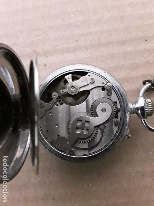 Relojes de bolsillo: Reloj de bolsillo antiguo vencedor extra - Foto 4 - 195049691