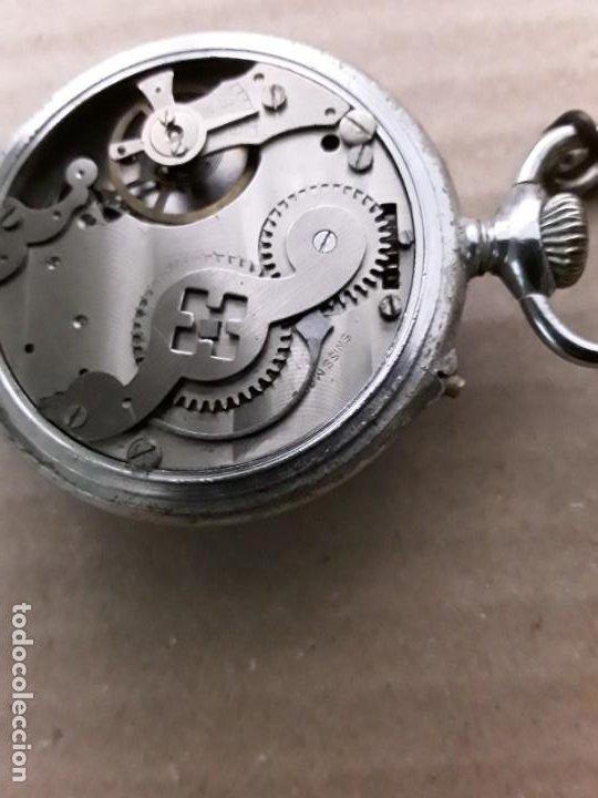 Relojes de bolsillo: Reloj de bolsillo antiguo vencedor extra - Foto 5 - 195049691