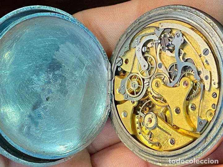 Relojes de bolsillo: Antiguo cronografo o cronometro tacometro LIP - PRincipios de siglo XX - Foto 8 - 195051130