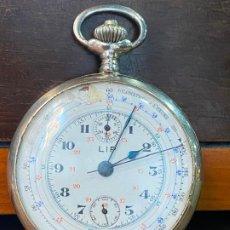 Relojes de bolsillo: ANTIGUO CRONOGRAFO O CRONOMETRO TACOMETRO LIP - PRINCIPIOS DE SIGLO XX. Lote 195051130