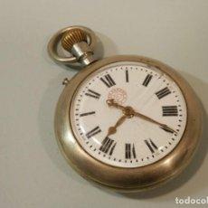 Relojes de bolsillo: ANTIGUO RELOJ DE BOLSILLO, FER´S PATENT, 58 MM, SISTEMA ROSKOPF, FUNCIONANDO. Lote 195058205