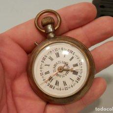 Relojes de bolsillo: ANTIGUO RELOJ DE BOLSILLO, REGULADOR, 57 MM, SISTEMA ROSKOPF, FUNCIONANDO. Lote 195058277