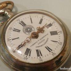 Relojes de bolsillo: ANTIGUO RELOJ DE BOLSILLO, ROSKOPF CUERVO Y SOBRINOS, HABANA, 45 MM, FUNCIONANDO. Lote 195058518