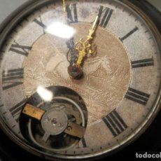 Relojes de bolsillo: ANTIGUO RELOJ DE BOLSILLO, 8 DIAS CUERDA, , 51 MM, FUNCIONANDO, BUEN ESTADO. Lote 195058715