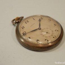 Relojes de bolsillo: ANTIGUO RELOJ DE BOLSILLO, LONGINES, PLATA , 47 MM, FUNCIONANDO. Lote 195058746