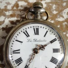 Relojes de bolsillo: RELOJ A CUERDA ANTIGUO. Lote 195089801